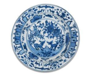 Dish, China,Ming-dynasty