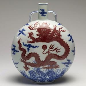 MoonFlask, China, Qianlong period