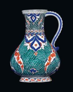 Jug,  Iznik , Ottoman Turkey, circa 1580