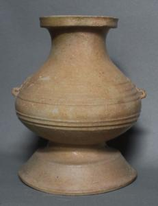 Vase hu orné de masque de taotie
